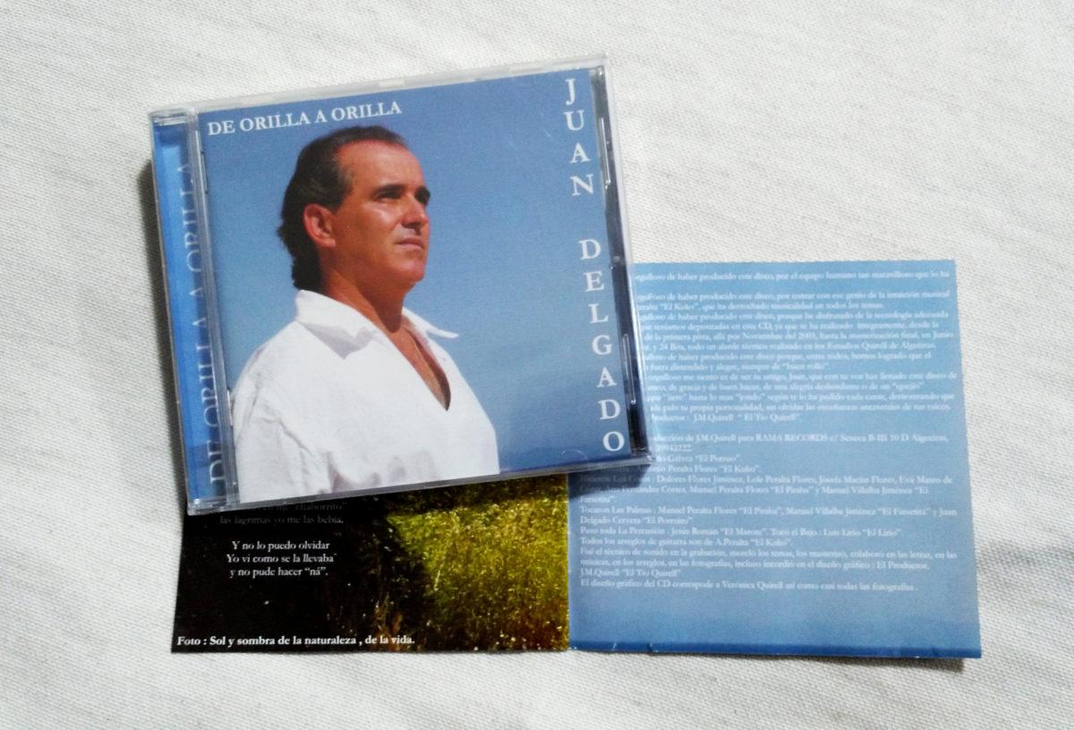 """""""De orilla a orilla"""" CD Juan Delgado"""
