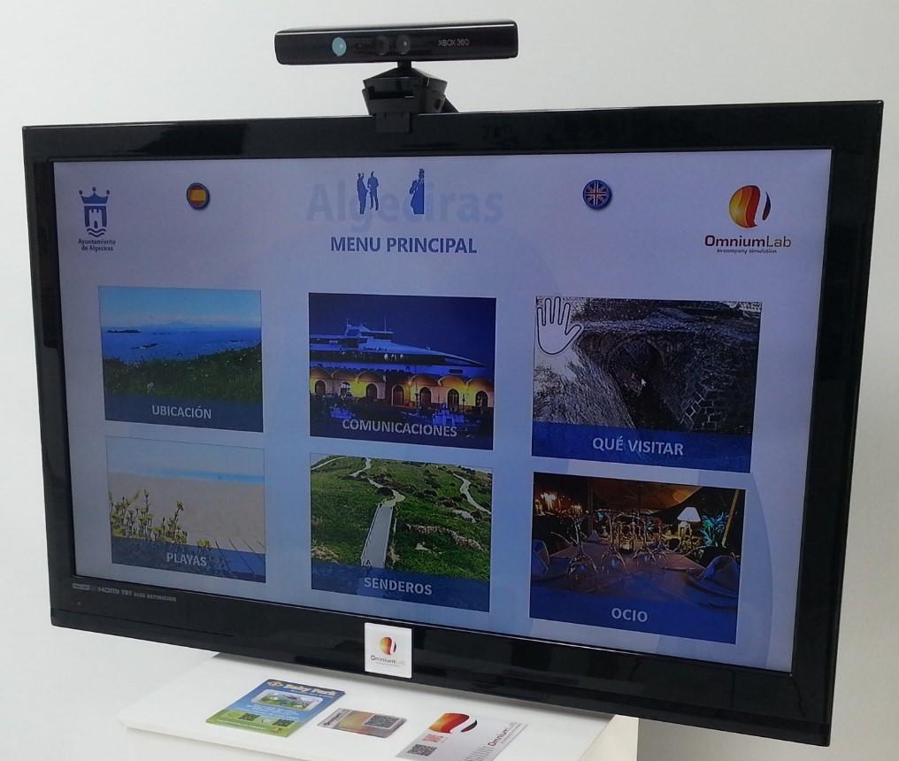 Guía interactiva con Kinect