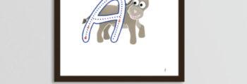 Alfabeto Animal bilingue