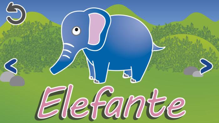 PANTALLA Elefante Baby Park.