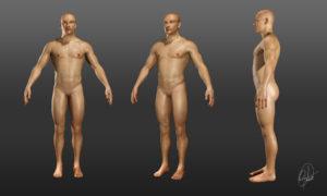 Práctica de esculpido y texturizado Denis.