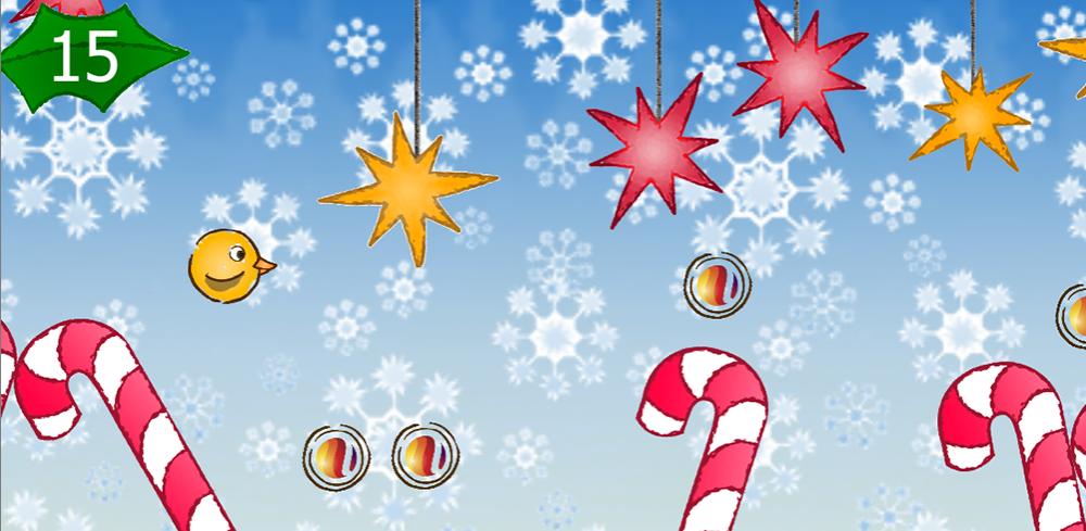 Flappy en Navidad