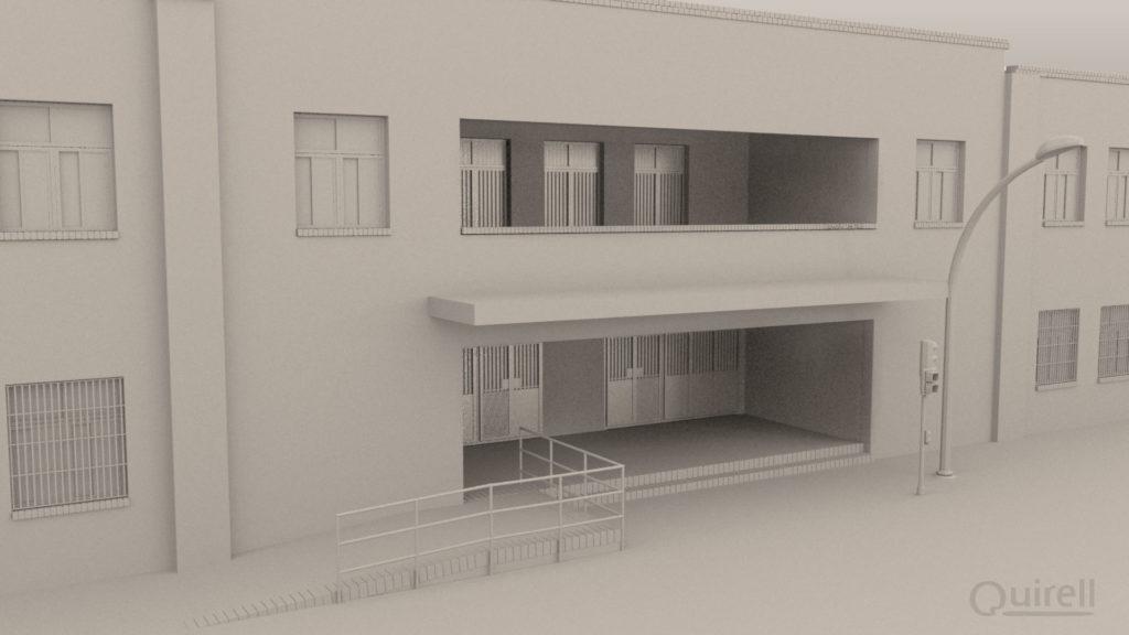 infoarquitectura Fachada del Colegio Santa Teresa