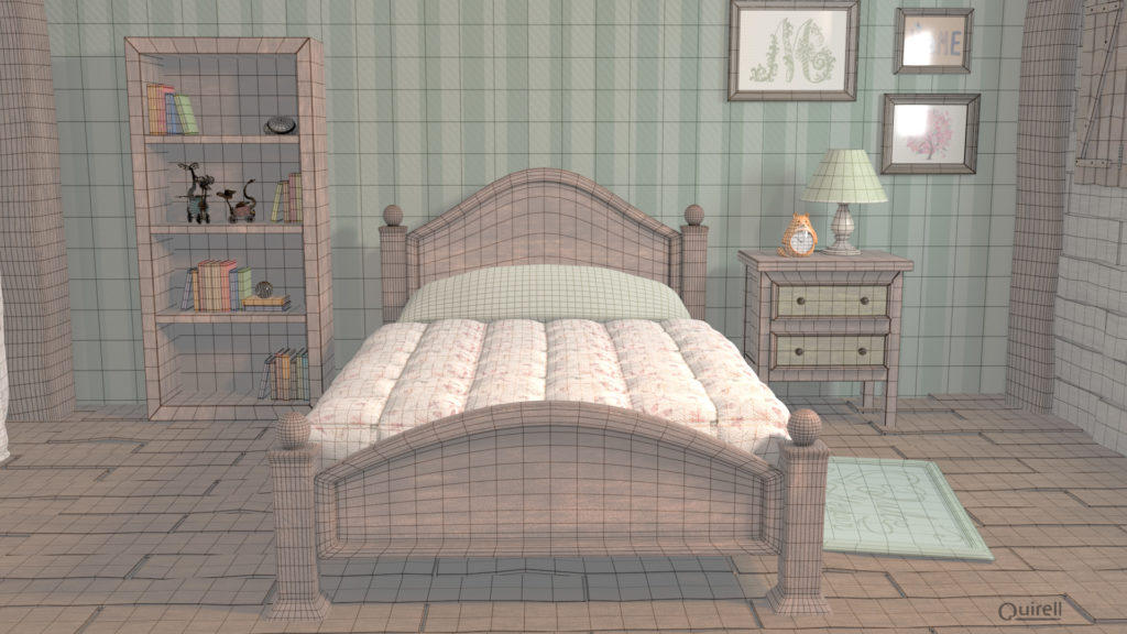 wire dormitorio de moody